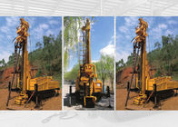 600m Fully Hydraulic Water Well Drilling Rig Crawler Mounted Core Drilling Rig