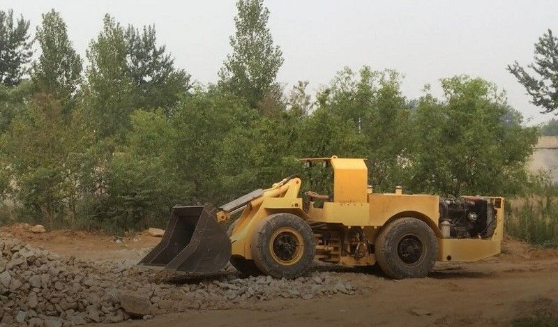 0.6 Cubic Meter  Wheel Loader for Underground Mining Project, Mini Scoop Tram