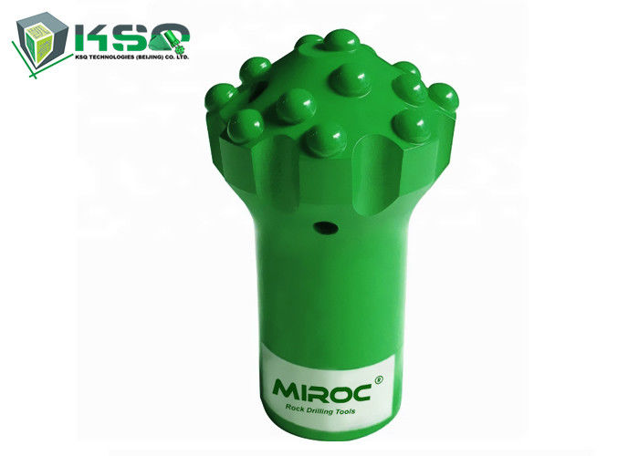 Mining Rock Drill Bits Threaded Tungsten Carbide Button Bit With High technology Center Top Hammer Bit